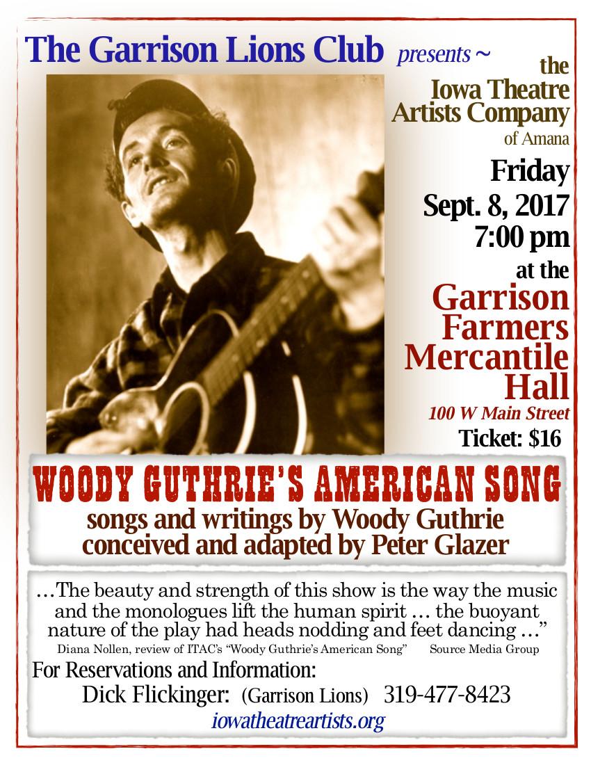 Garrison WGAS Poster