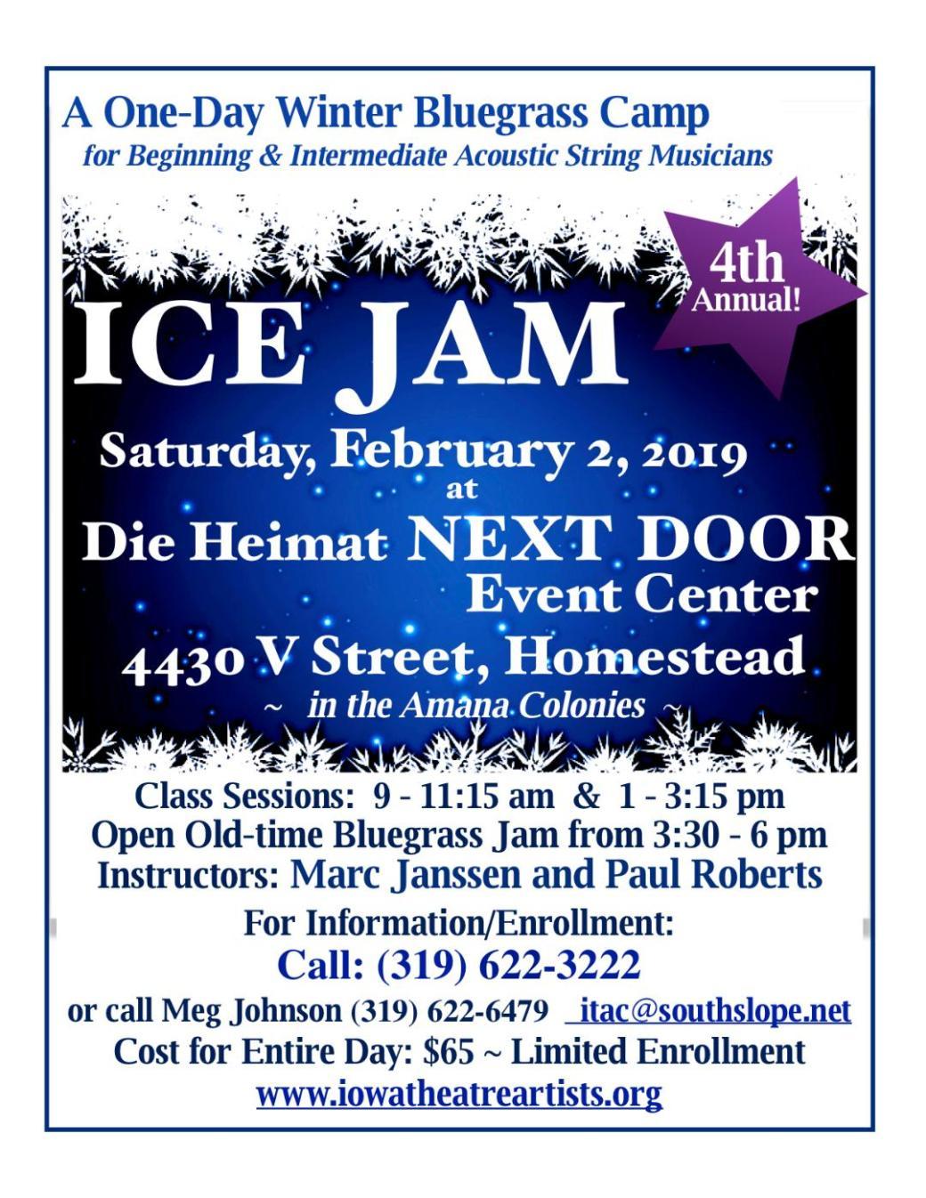 ice jam 2019